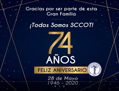 Todos Somos SCCOT- 74 años-Feliz Aniversario