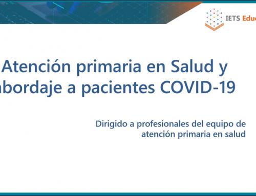 Curso Online Atención Primaria en Salud y Abordaje a Pacientes COVID-19: El Nuevo Normal